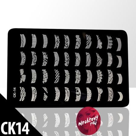 Doštička M   typ CK14