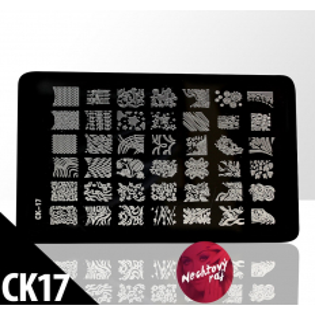 Doštička M   typ CK17