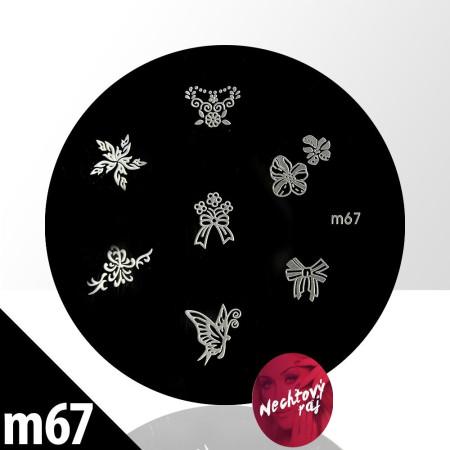 Doštička XS   typ M67