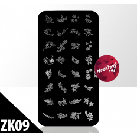 Doštička S typ ZK09