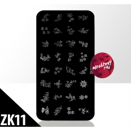 Doštička S typ ZK11