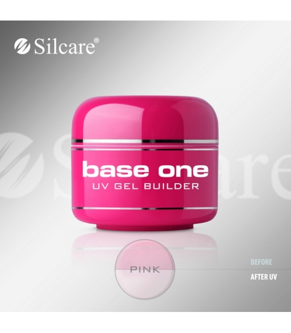 Base one UV gél Pink 15g