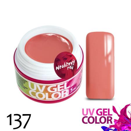 Farebný uv gél 137 5g NechtovyRAJ.sk - Daj svojim nechtom všetko, čo potrebujú