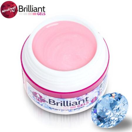 Uv gél Briliant ružový priehľadný 5 ml