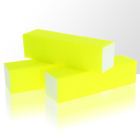 Brúsny blok - neon žltý 100/100
