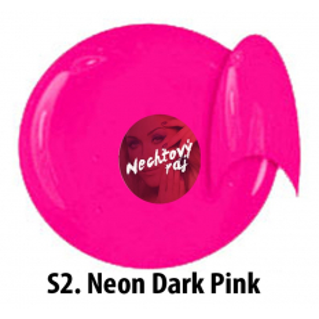 Farebný neonový uv gél NTN S2 5g NechtovyRAJ.sk - Daj svojim nechtom všetko, čo potrebujú