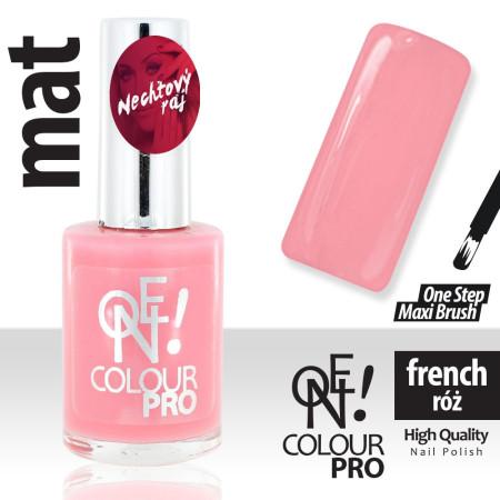 Lak na nechty ONE COLOUR PRO Francúszky ružový NechtovyRAJ.sk - Daj svojim nechtom všetko, čo potrebujú