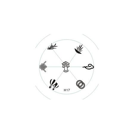 Doštička na pečiatkovanieH17 NechtovyRAJ.sk - Daj svojim nechtom všetko, čo potrebujú