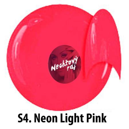 Farebný neonový uv gél NTN S4   5g