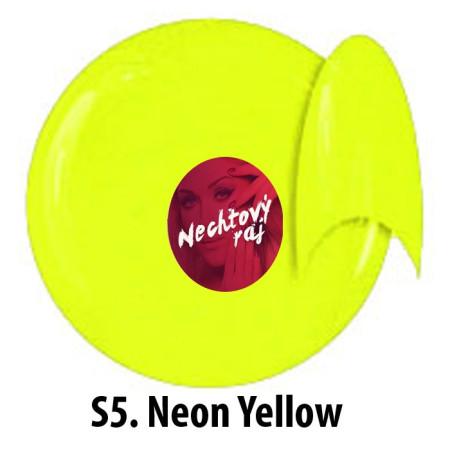 Farebný neonový uv gél NTN S5   5g