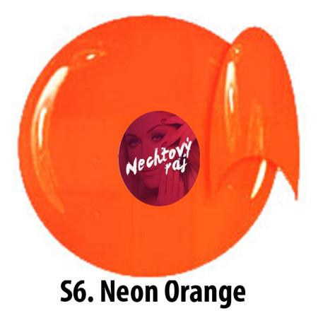 Farebný neonový uv gél NTN S6   5g