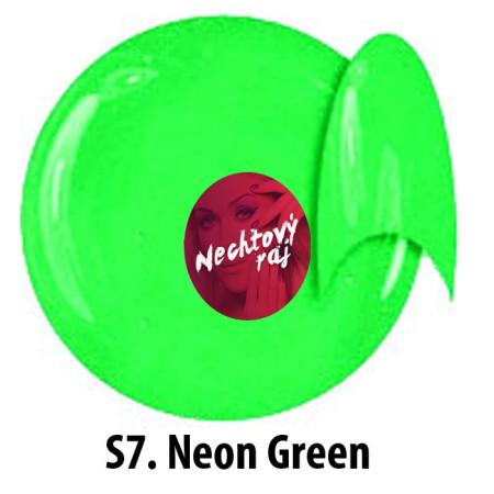 Farebný neonový uv gél S7   5g