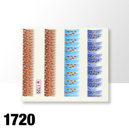 Vodolepky pierka 1720