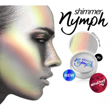 Silcare shimmer Nymph - Diamantový prášok, zrkadlový efekt 3 g