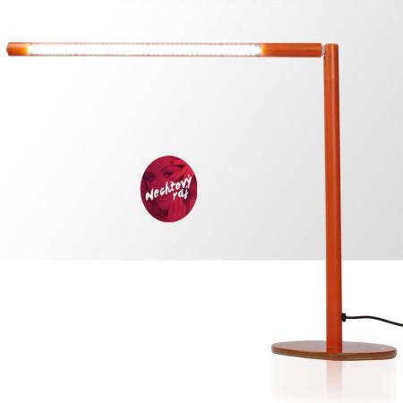 Novinka - Stolová led lampa oranžová