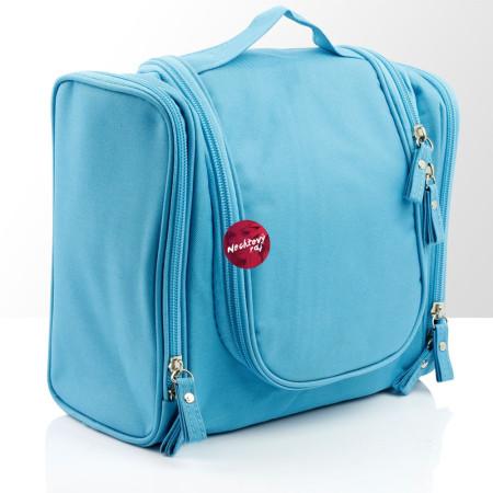 Kozmetická taštička - modrá