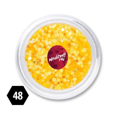 Ozdobné šesťuholníky 48 NechtovyRAJ.sk - Daj svojim nechtom všetko, čo potrebujú