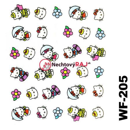 3D nálepky Hello Kitty 205 NechtovyRAJ.sk - Daj svojim nechtom všetko, čo potrebujú