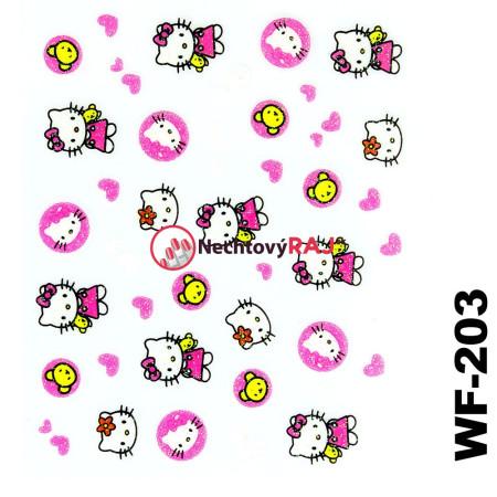 3D nálepky  Hello Kitty 203