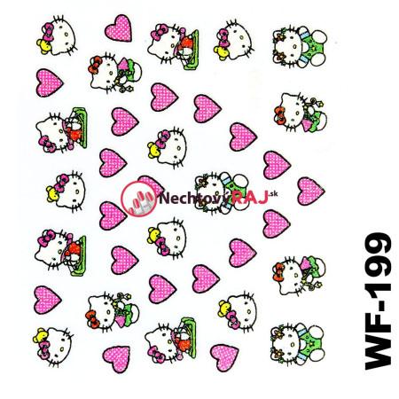 3D nálepky Hello Kitty 199