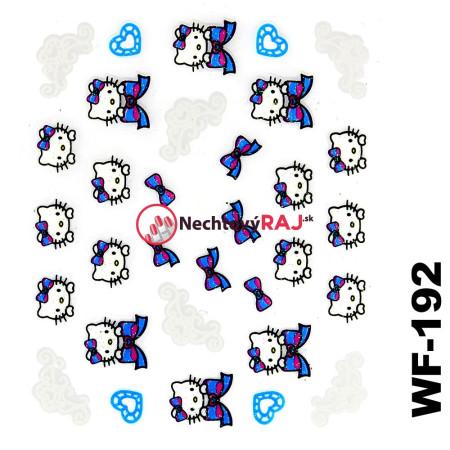 3D nálepky Hello Kitty 192 NechtovyRAJ.sk - Daj svojim nechtom všetko, čo potrebujú
