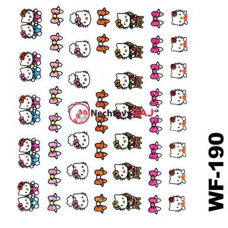 3D nálepky Hello Kitty 190 NechtovyRAJ.sk - Daj svojim nechtom všetko, čo potrebujú