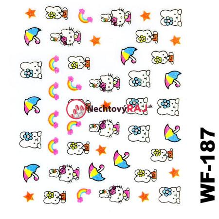 3D nálepky Hello Kitty 187 NechtovyRAJ.sk - Daj svojim nechtom všetko, čo potrebujú