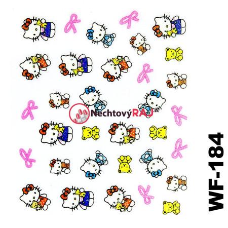 3D nálepky Hello Kitty 184 NechtovyRAJ.sk - Daj svojim nechtom všetko, čo potrebujú