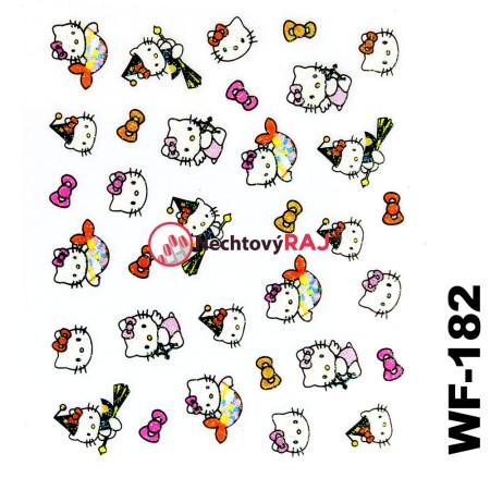 3D nálepky Hello Kitty 182
