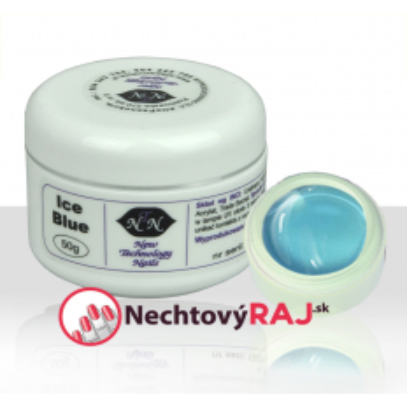 NTN UV gél na nechty Ice blue 50g
