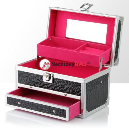 Šperkovnička - kufrík na šperky,bižutériu a drobnosti 22