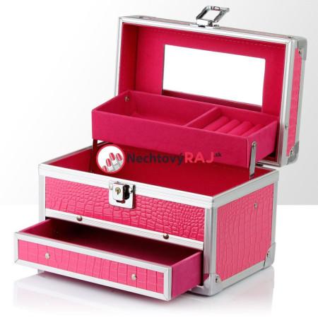 Šperkovnička - kufrík na šperky,bižutériu a drobnosti
