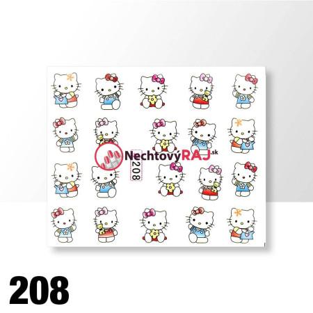 Vodolepky Hello Kitty 208 NechtovyRAJ.sk - Daj svojim nechtom všetko, čo potrebujú