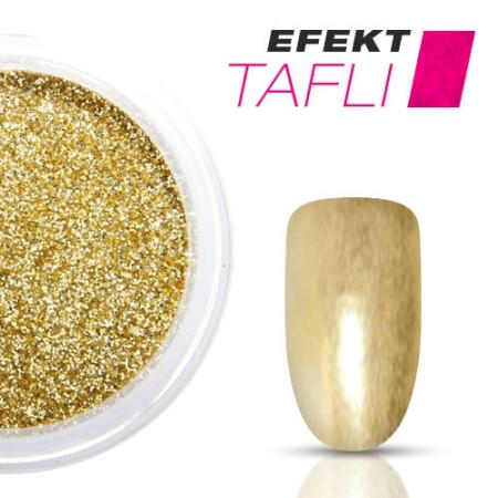 Allepaznokcie prášok na nechty TAFLI efekt zlatý 3g