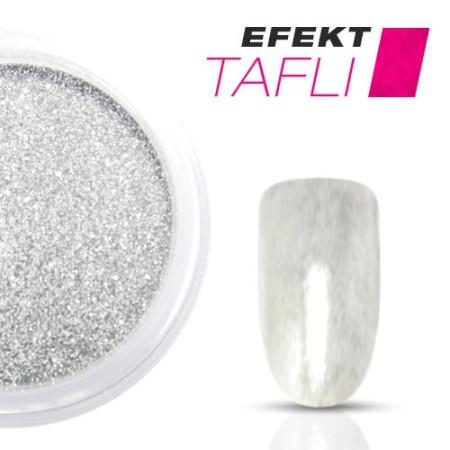 Allepaznokcie prášok na nechty TAFLI efekt strieborný 3g