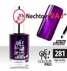 Lak na nechty-ONE COLOUR 281