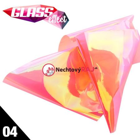 Glass Nail Fólia 04
