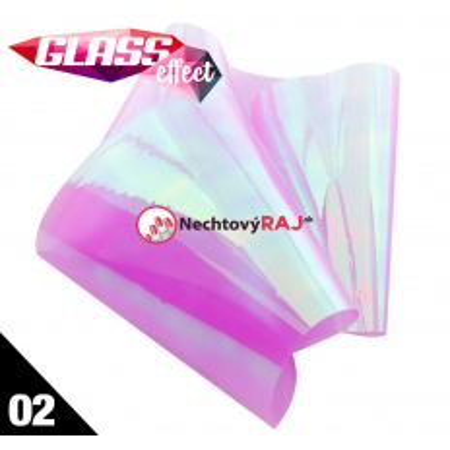 Glass Nail Fólia 02