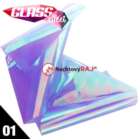 Glass Nail Fólia  01