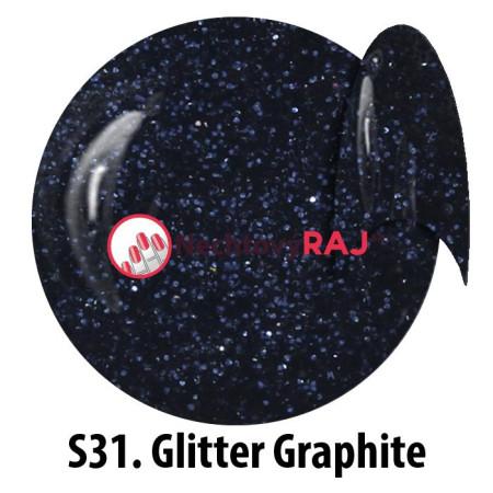 NTN Glitrový uv gél S31 5g