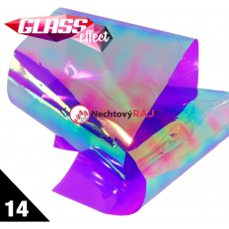Glass Nail Fólia 14