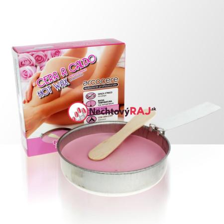 Vosk na depiláciu ružový 120 g NechtovyRAJ.sk - Daj svojim nechtom všetko, čo potrebujú
