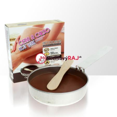 Vosk na depiláciu čokoláda 120 g NechtovyRAJ.sk - Daj svojim nechtom všetko, čo potrebujú