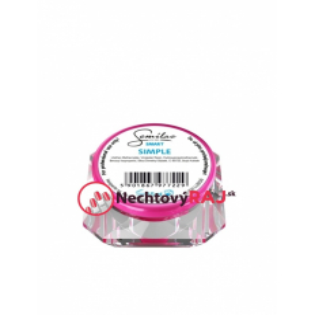 Semilac Smart uv gél Simple clear - 15 ml