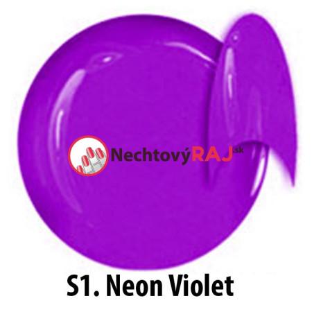 Farebný neonový uv gél NTN S01 5g