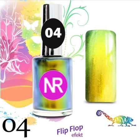 Lak na nechty Flip - Flop 4 NechtovyRAJ.sk - Daj svojim nechtom všetko, čo potrebujú