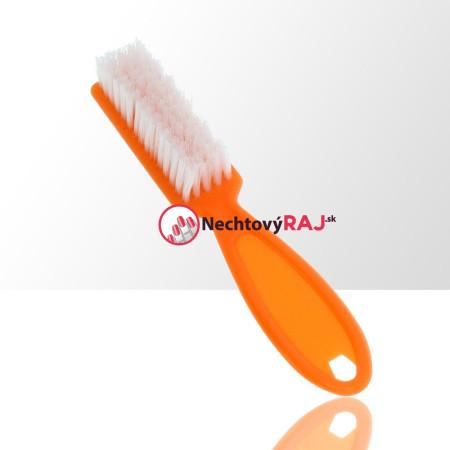 Kefka s rúčkou na oprašovanie oranžová NechtovyRAJ.sk - Daj svojim nechtom všetko, čo potrebujú